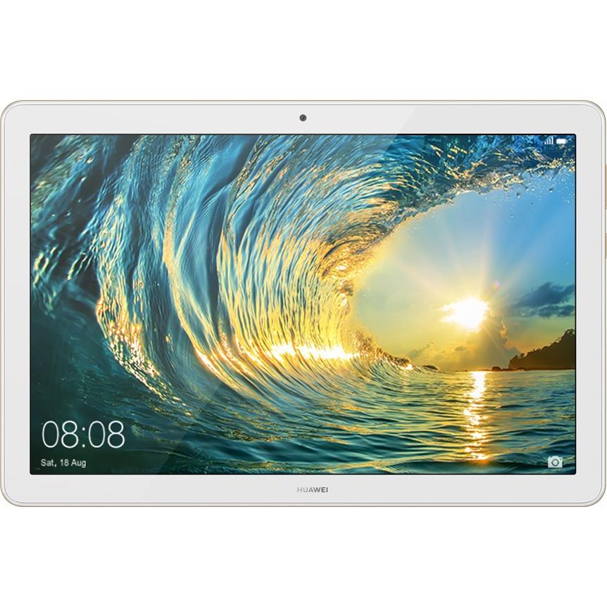 """Fotografie Tableta Huawei MediaPad T5 10, Octa Core, 10.1"""", 3GB RAM, 32GB, 4G, Gold"""