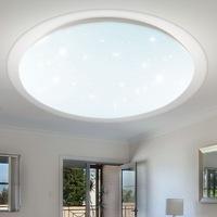 V-TAC LED lámpatest, 56,5cm 60W távirányítóval csillagfényes csillagos átlátszó szegéllyel