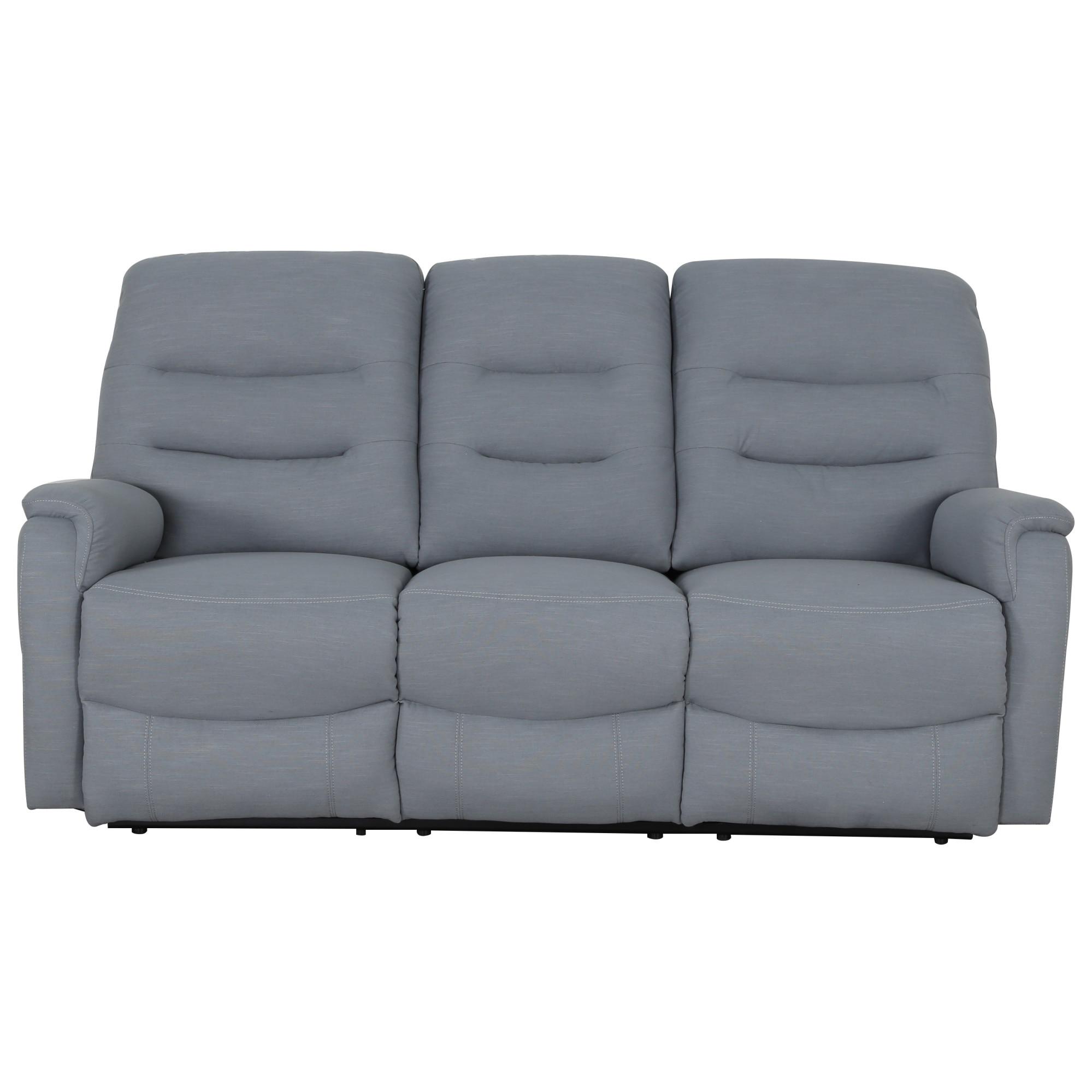 Fotografie Canapea Kring Sylvie Vive cu 3 locuri, 2 reclinere si 3 trepte de confort, turcoaz, 193 x 100 x 101 cm