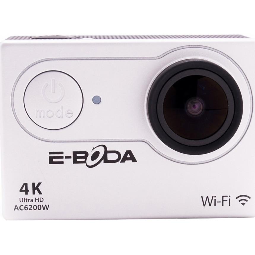 Fotografie Camera Video Sport E-Boda AC6200W, 4K Ultra HD, Wi-Fi, HDMI, Water Case, 20 Accesorii incluse