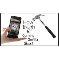 Стъклен скрийн протектор Full Glue Gorilla glass, Закалено стъкло, iPhone 6,Iphone 6S Бял