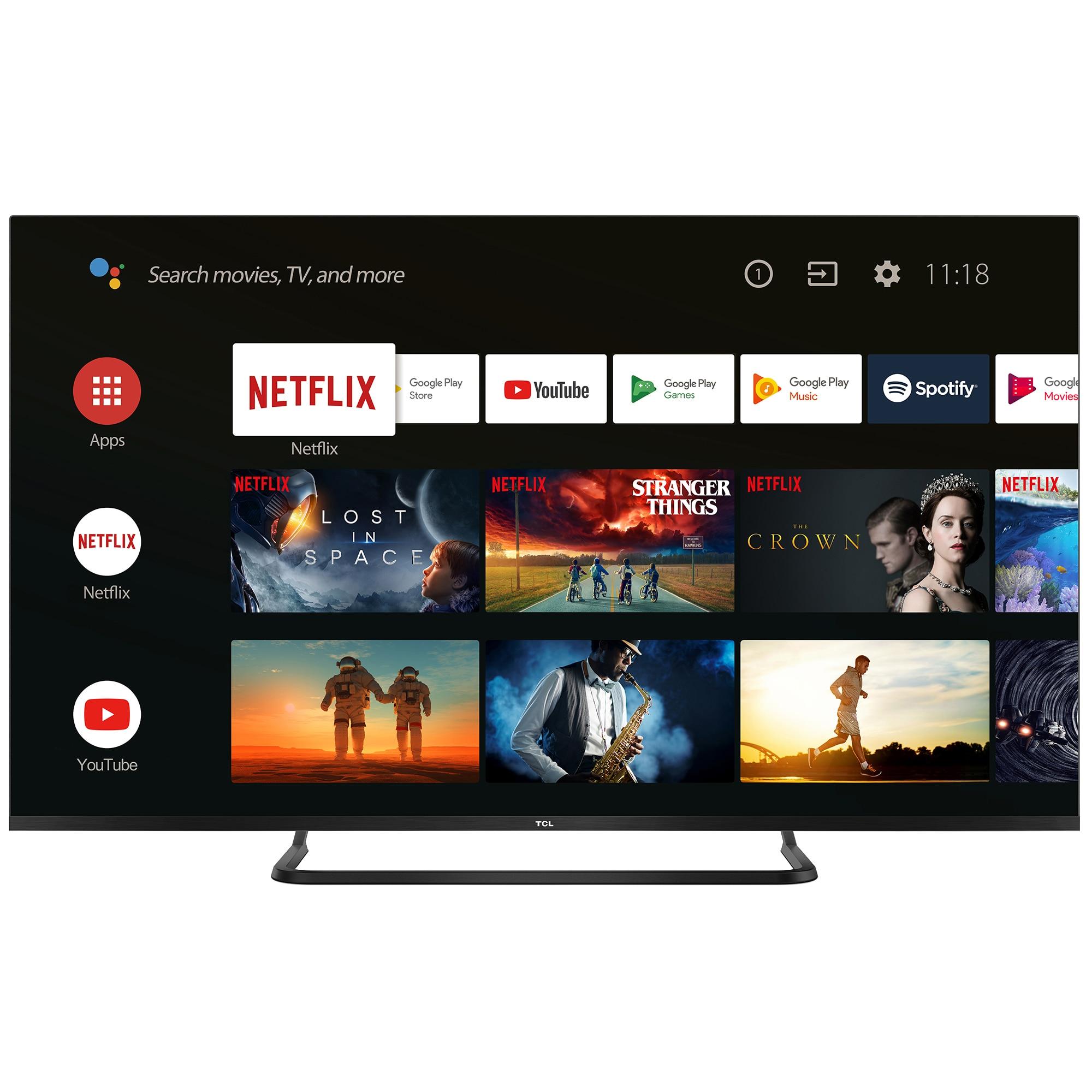 Fotografie Televizor LED Smart Android TCL, 127 cm, 50EP680, 4K Ultra HD