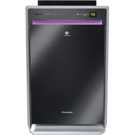 Fotografie Purificator & umidificator de aer Panasonic F-VXR90G-K, ioni Nanoe, 5 tipuri de senzori, tehnologie operare Econavi, Filtru HEPA, senzor miros, senzor polen, senzor prezenta umana