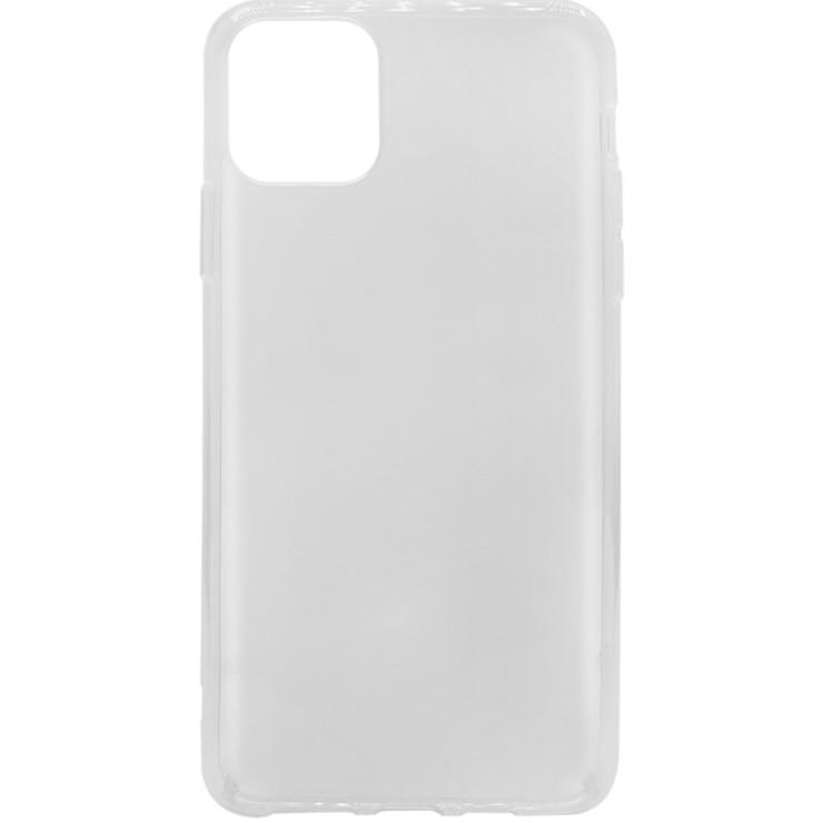 Fotografie Husa de protectie Lemontti, silicon, pentru iPhone 11 Pro Max Transparent