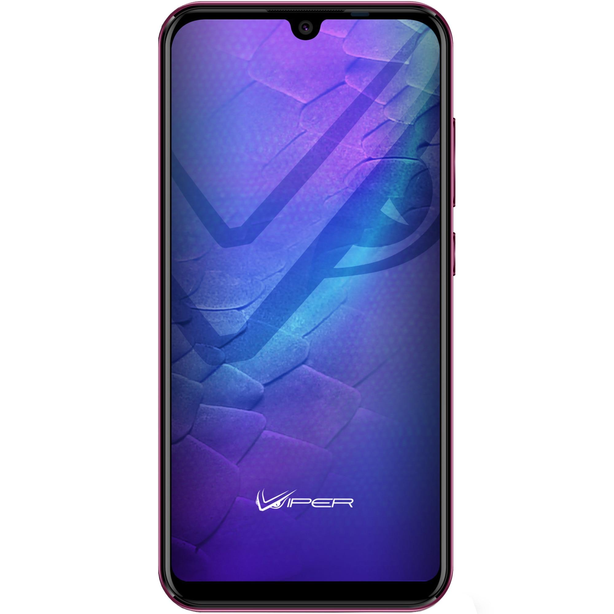 Fotografie Telefon mobil Allview V4 Viper, Dual SIM, 16GB, 4G, Dark Bordeaux