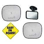 Комплект за пътуване Safety1st, 1бр. табела, 1бр. огледало, 2бр. сенник