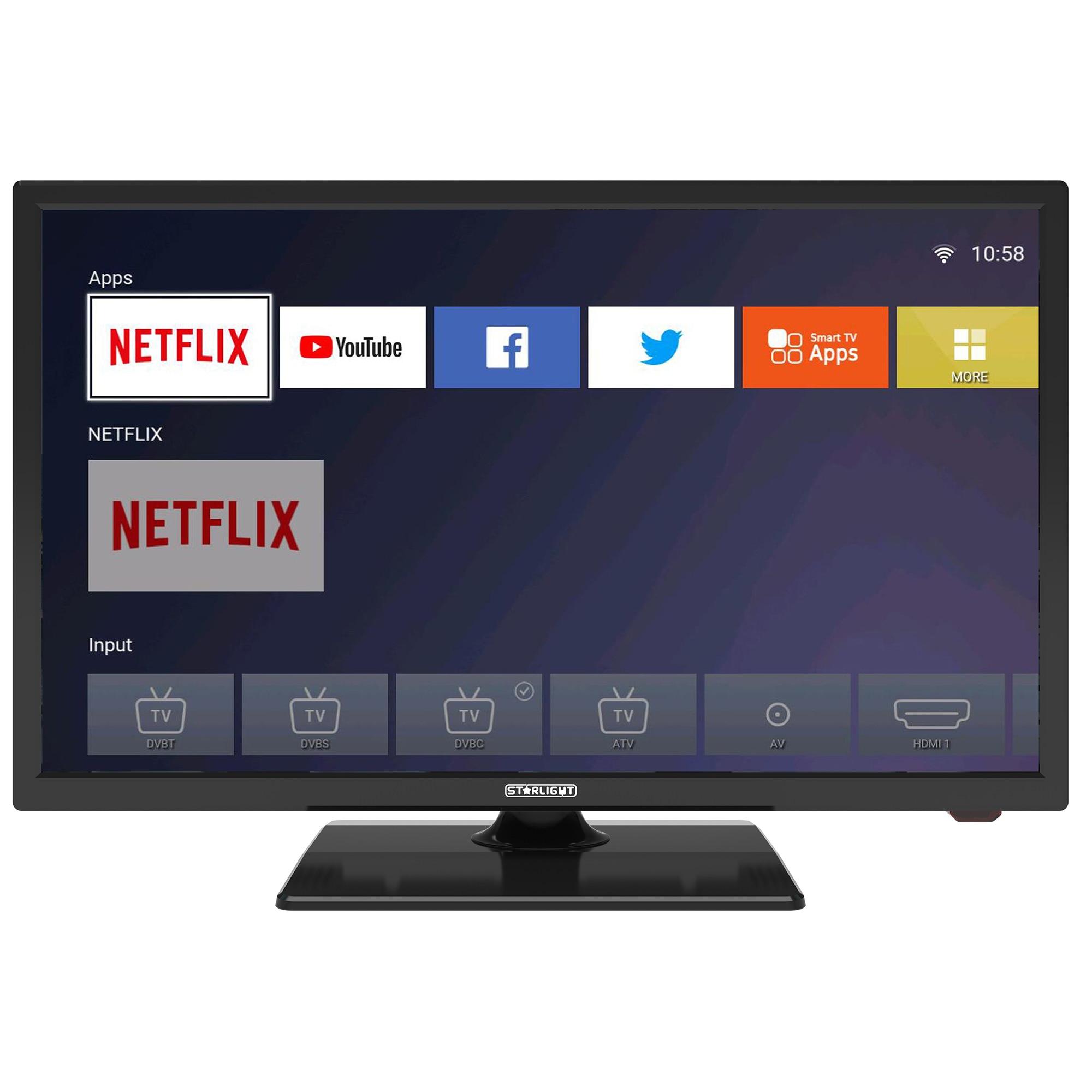 Fotografie Televizor LED Smart Star-Light, 60 cm, 24DM6600, HD, Clasa F