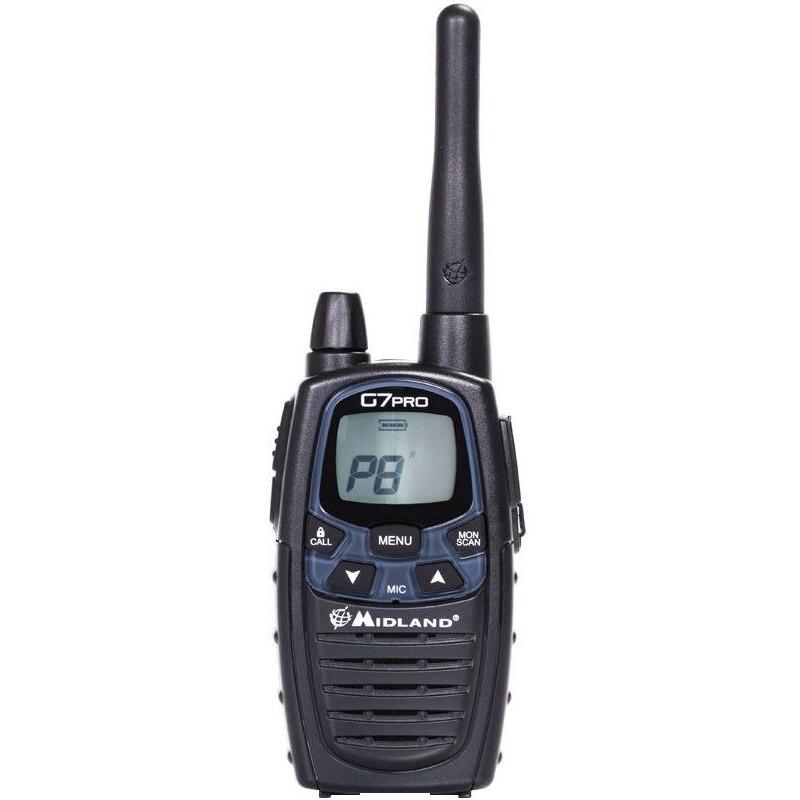 Fotografie Statie radio PMR/LPD portabila Midland G7 PRO Single Cod C1090.14