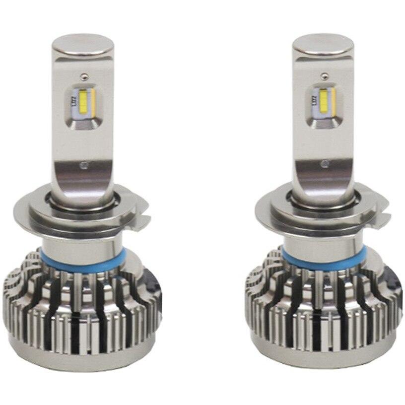 Fotografie Instalatie LED auto PNI Clementine H7 PH 6000K 8000 lm 40W, set 2 bucati