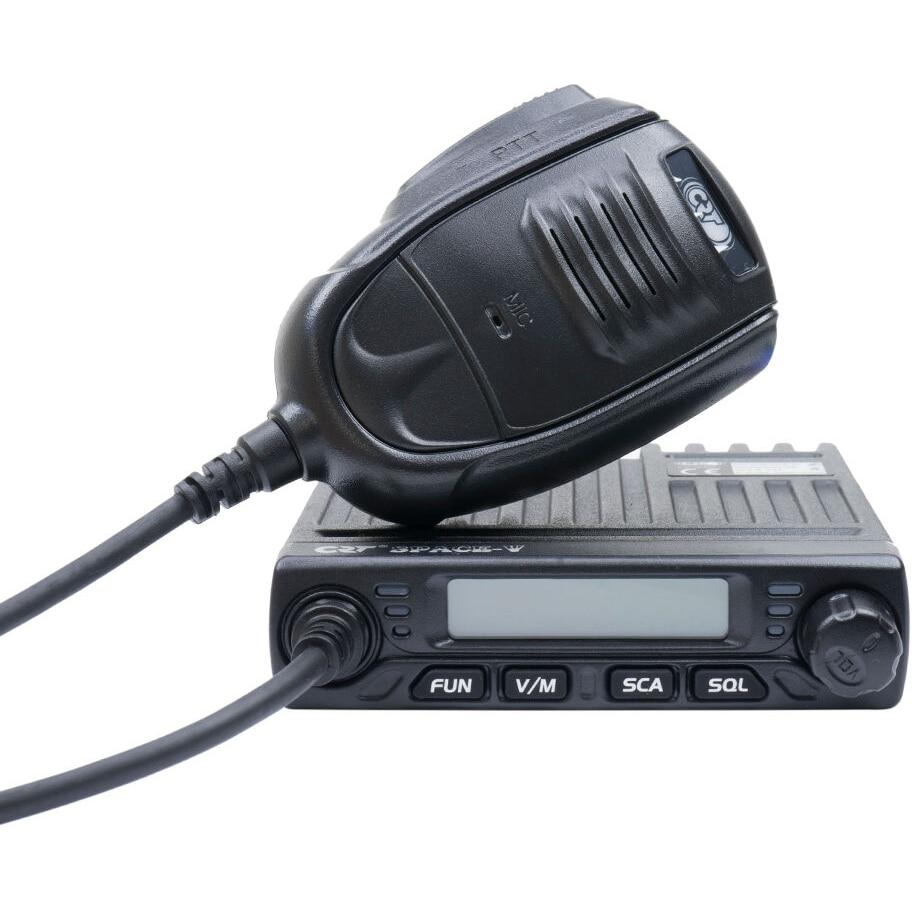 Fotografie Statie radio VHF CRT SPACE V 136-174MHz, 199 canale, progamabila pe PC