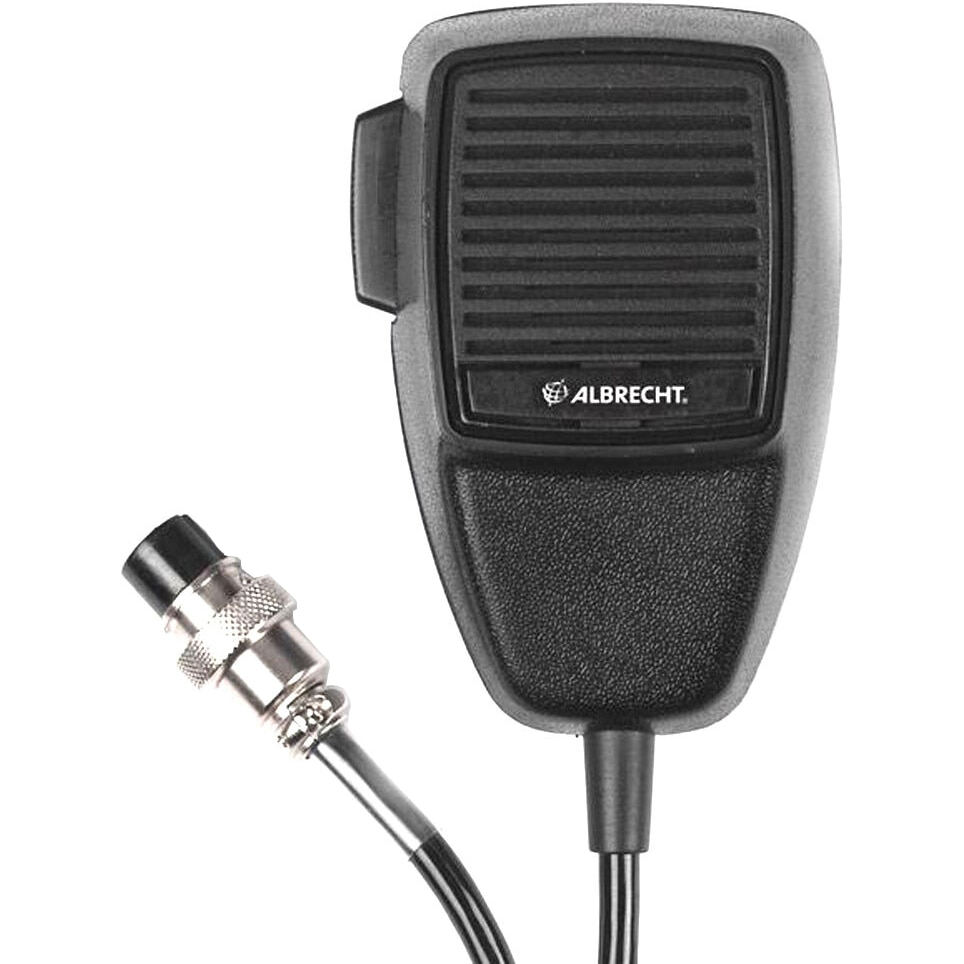 Fotografie Microfon Albrecht electret cu 4 pini pentru statii radio CB Albrecht AE 4200 EU