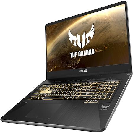 "Лаптоп Gaming ASUS TUF FX705DT, 17.3"", AMD Ryzen™ 5 3550H, RAM 8GB, SSD 256GB, NVIDIA® GeForce® GTX1650, No OS, Gold Steel"