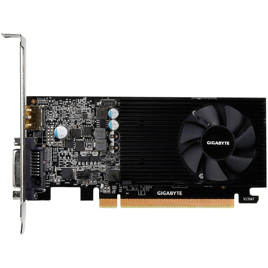 Fotografie Placa video Gigabyte GeForce GT 1030 Low Profile, 2GB GDDR5, 64-bit