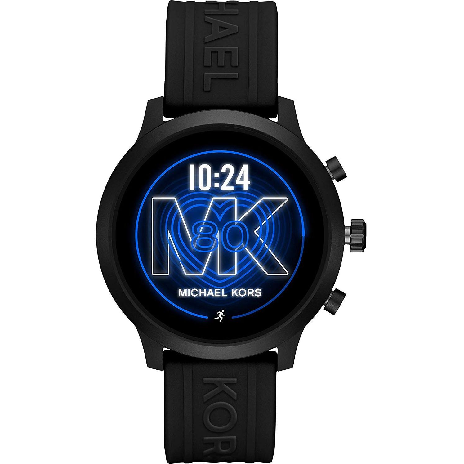 Fotografie Ceas Smartwatch Michael Kors GO, MKT5072, Silicon, Black/Black