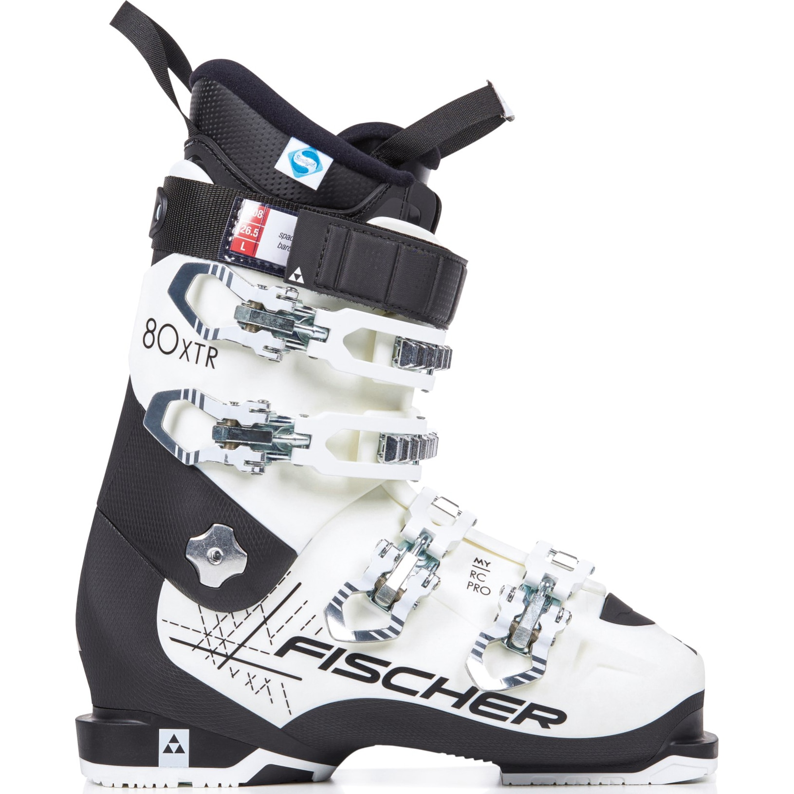 Fotografie Clapari ski Fischer MY RC Pro 80 XTR TS, White/Black, Alb/Negru, 24