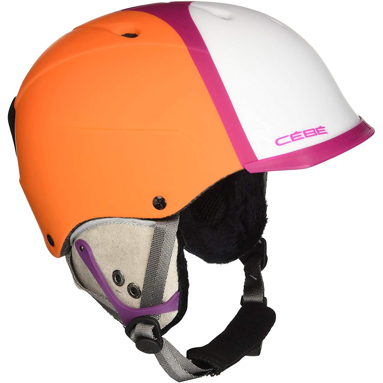 Fotografie Casca ski Cebe ConTest Visor Pro, Portocaliu/Roz, 58-62