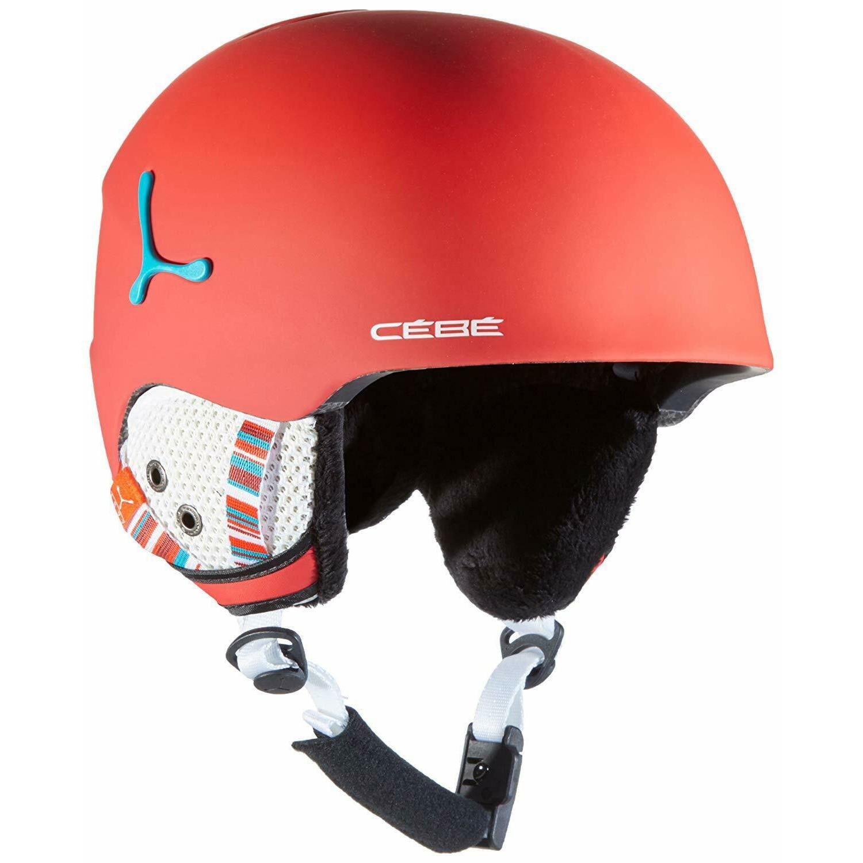 Fotografie Casca ski Cebe Suspense, Matte/Red 52-54cm