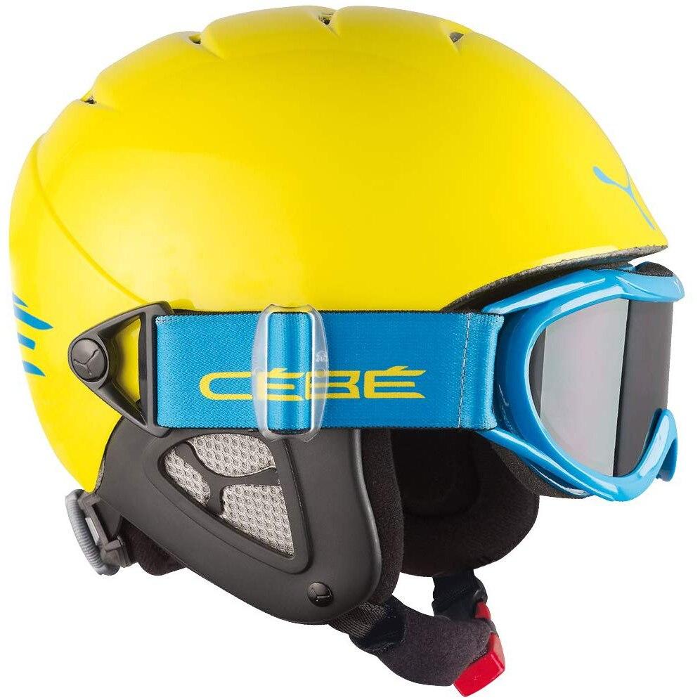 Fotografie Casca ski Cebe Twinny, Yellow/Blue 50-52cm