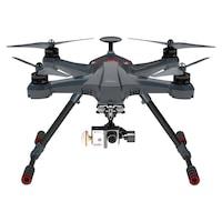 Walkera Scout X4 GPS Quadcopter + Földi állomás - Devo F12E - 3D gimbal - iLook+ kamera - FPV2 szürke