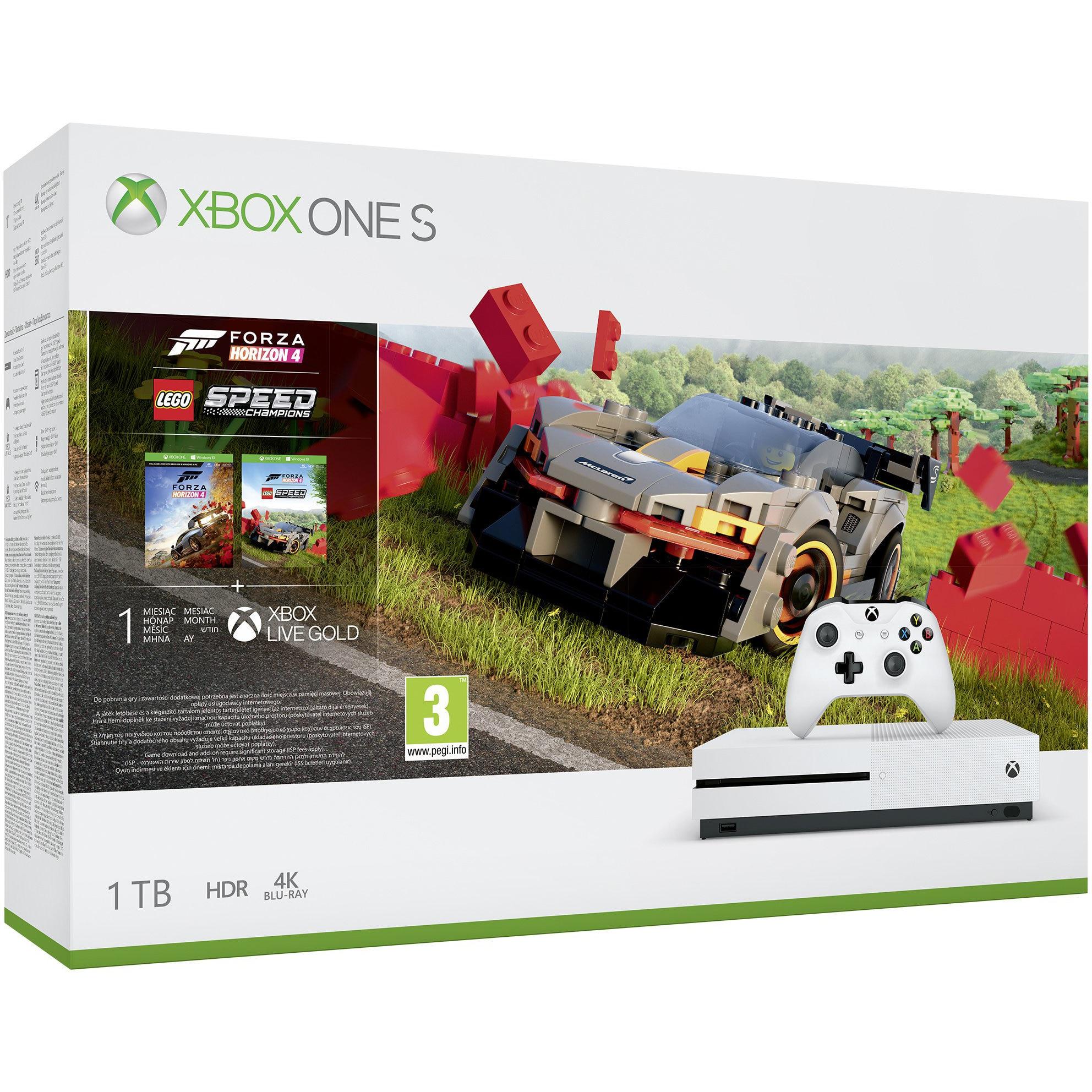 Fotografie Consola Xbox One S 1TB + Forza Horizon 4 + Lego DLC