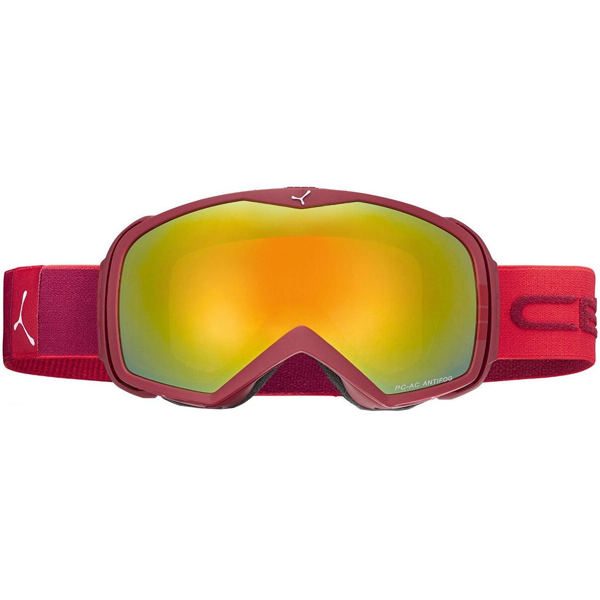 Fotografie Ochelari ski Cebe Flash Mirror Cat.3, Red