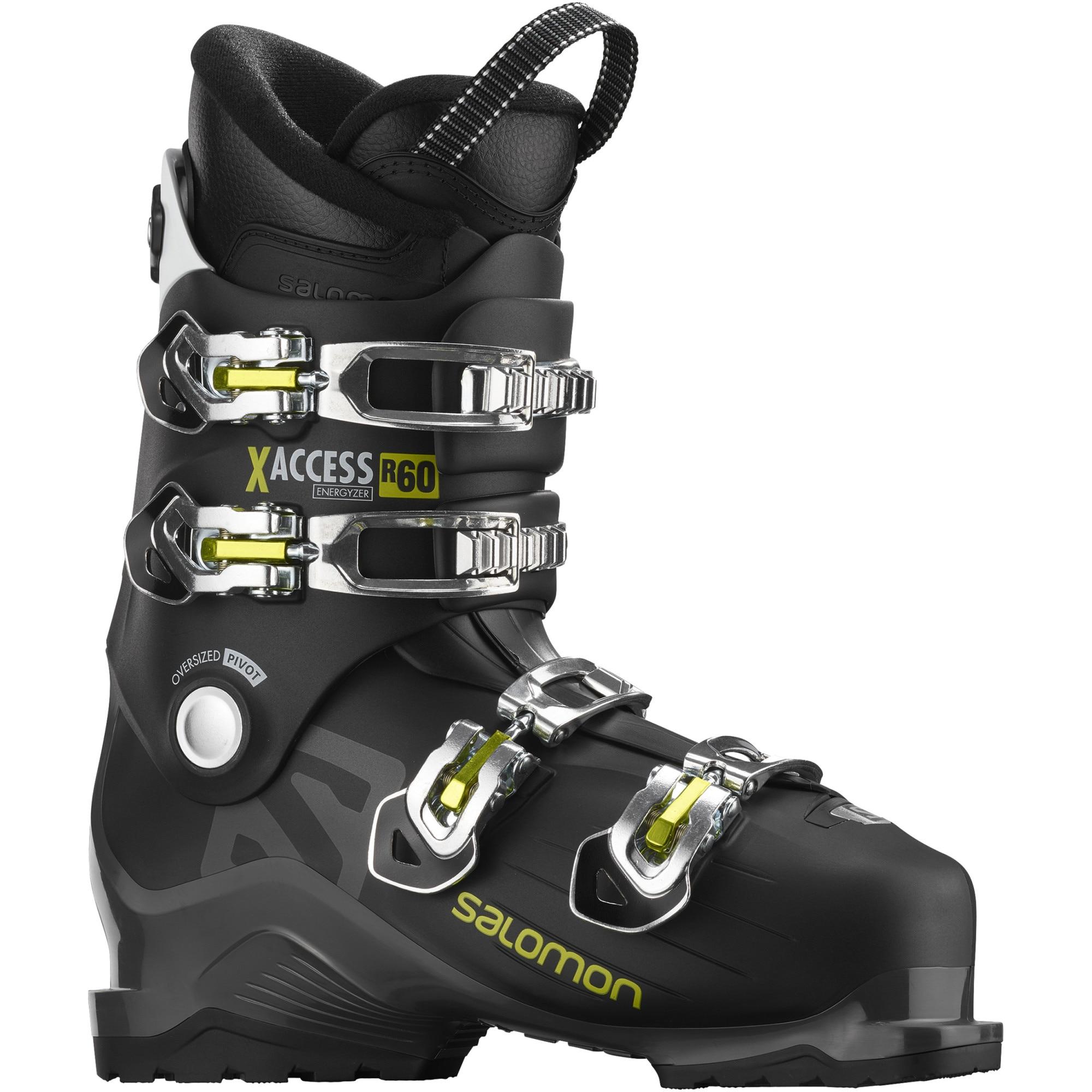 Fotografie Clapari ski Salomon X Access R60, Unisex, Anthracite/Green, 28, 28.5