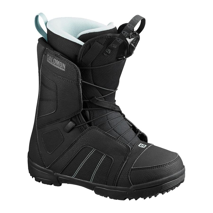 Fotografie Salomon Scarlet boots snowboard , pentru femei, Negru/Albastru, 23.5