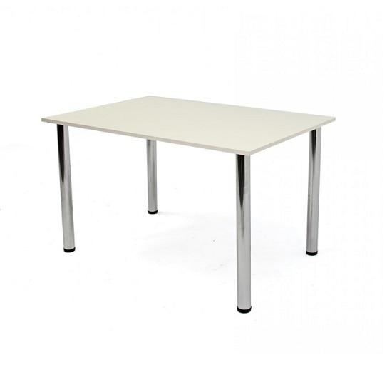 Niko étkezőgarnitúra 4 személyes étkezőasztal székekkel, Fém bézs beige eMAG.hu