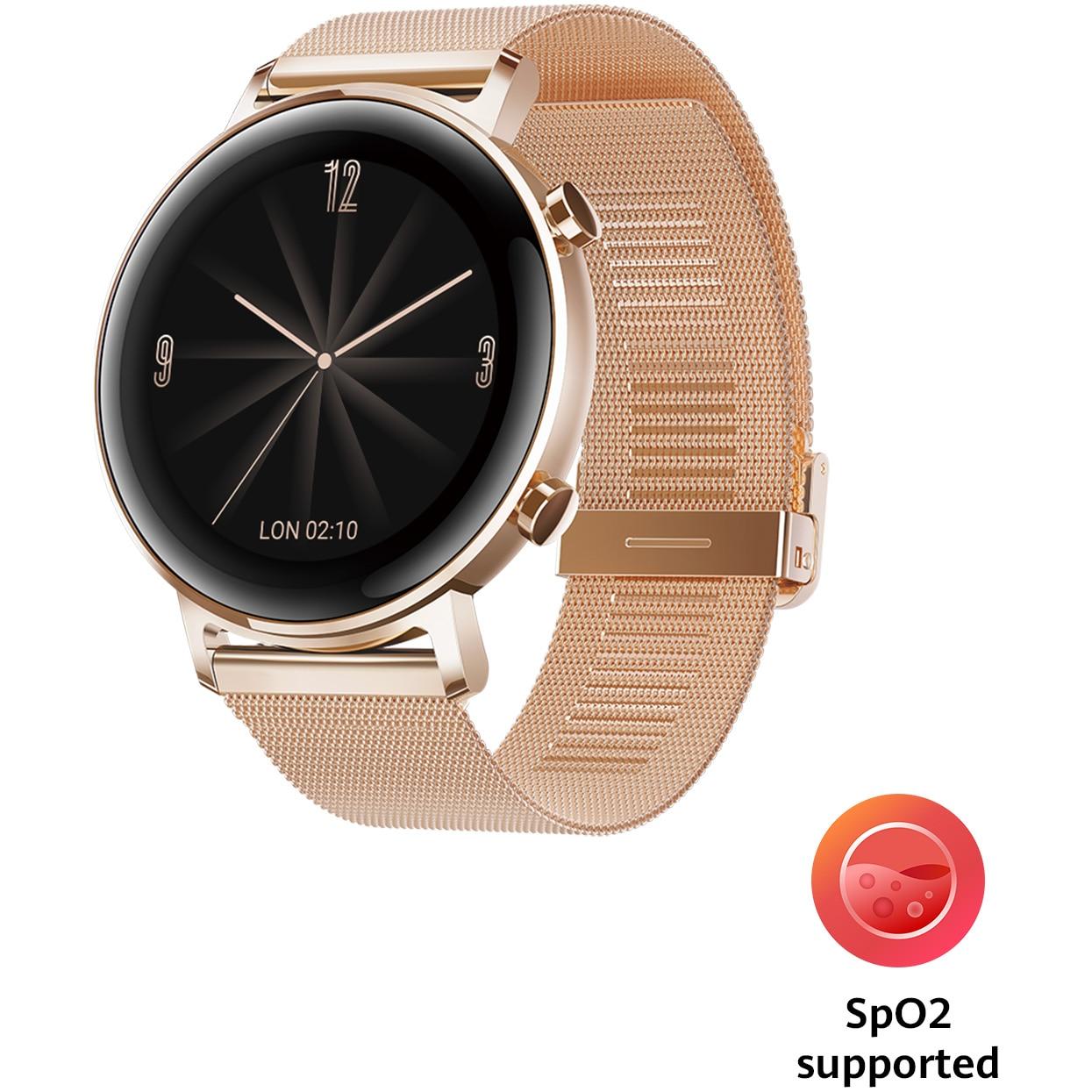 Fotografie Ceas Smartwatch Huawei Watch GT 2, 42mm, Refined Gold