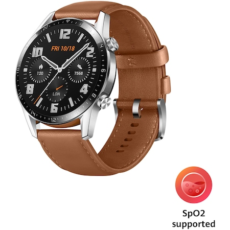 Ceas Smartwatch Huawei Watch GT 2, 46mm, Pebble Brown