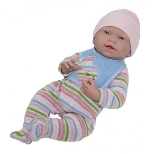 Berenguer 3-6 hónapos lány játék baba élethű 38cm JC Toys leIUAq