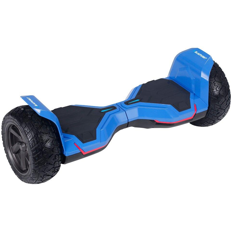 Fotografie Scooter electric Blaupunkt EHB 608, roti tubeless 8.5 inch, motor 600 w, autonomie max. 12 km, Bluetooth, aplicatie Android si IOS, albastru