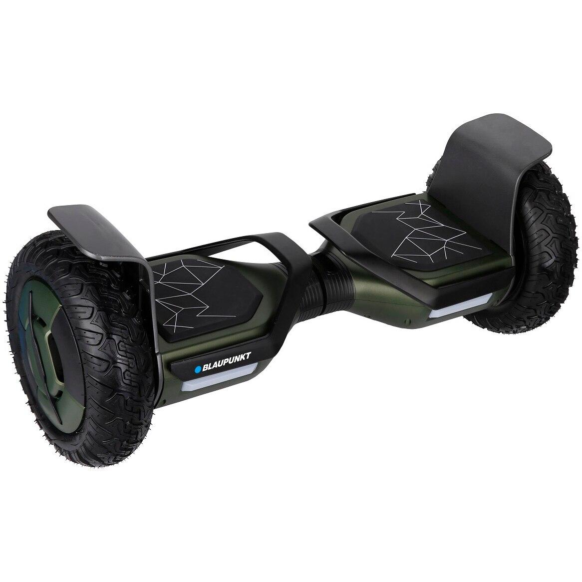 Fotografie Scooter electric Blaupunkt EHB 810, roti 10 inch, motor 700 w, autonomie max. 15 km, Bluetooth, aplicatie Android si IOS