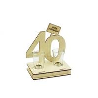 Fa italszett - 40. születésnapra
