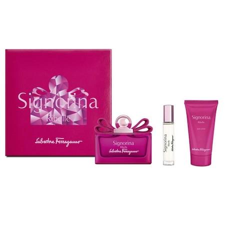 Signorina Ribelle Set (Eau de Parfum 100, Body Lotion 50, Eau de Parfum10)