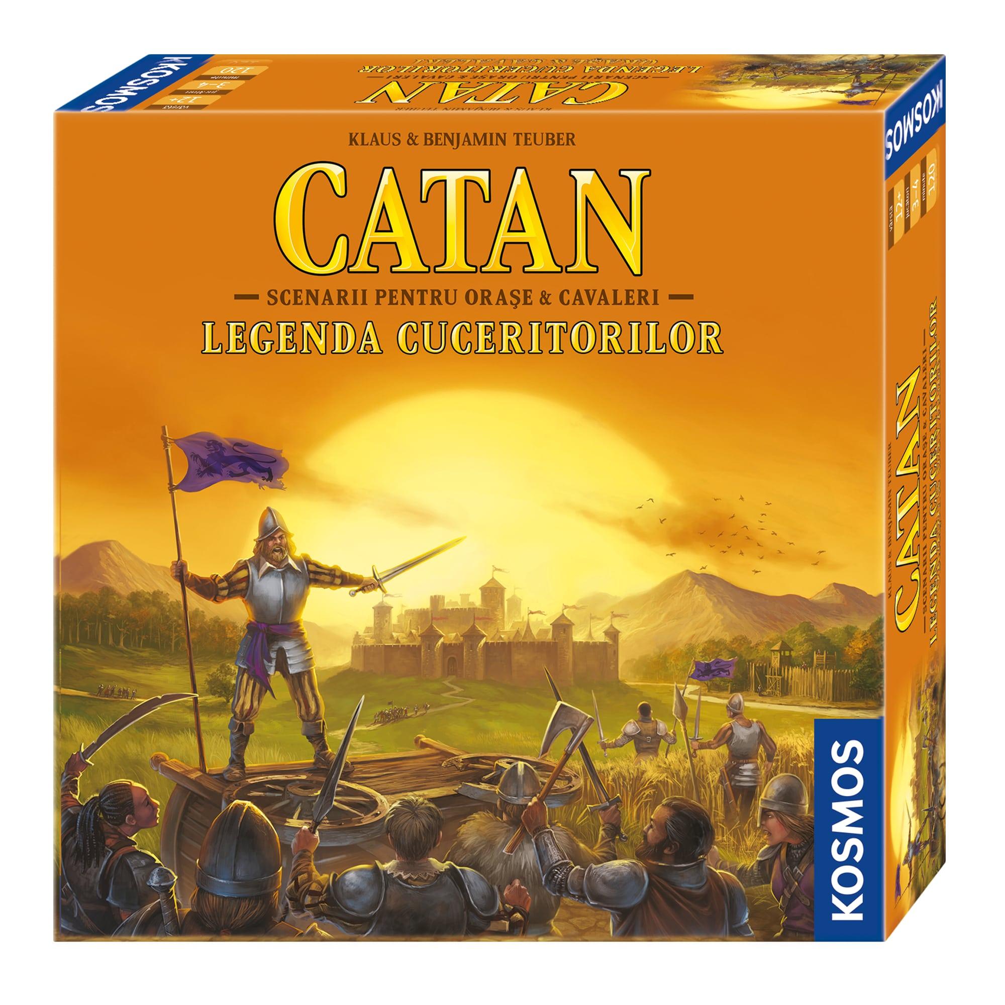 Fotografie Joc Kosmos Catan - Legenda Cuceritorilor, scenarii pentru Orase & Cavaleri