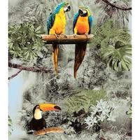 Tapéta DEGRETS 584-02 Duplex, Papagájok 3D, Méret: 0.53m x 10.05m = 5.3 m2