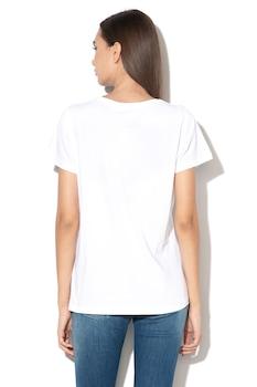 Pepe Jeans London, Virginia logós póló, Fehér