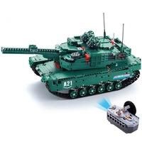 Double Eagle profi távirányítós építőkészlet játék szett (1498 db, 46 cm) 2 féle játék tank egyben EE Double E CaDa (C61001W) (lego technic kompatibilis)