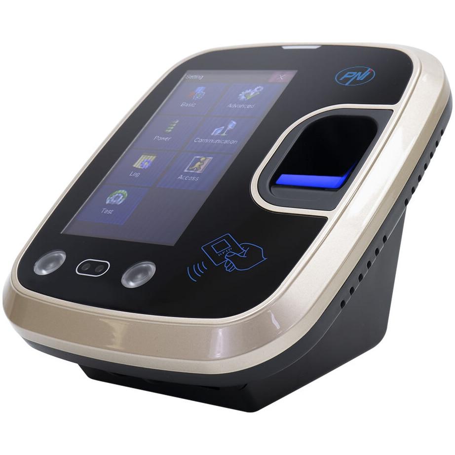 Fotografie Sistem de pontaj biometric si control acces PNI Face 600 cu cititor de amprenta, recunoastere faciala si card