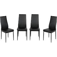 scaune negre tratament