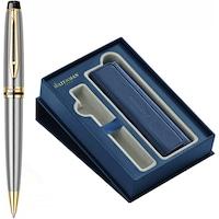 Pix Waterman Expert Essential Stainless Steel GT in caseta de cadou cu etui