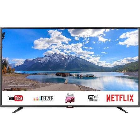 Televizor LED Smart Sharp, 164 cm, 65BJ5E, Ultra HD 4K, Clasa A+