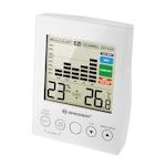 Цифров хигрометър BRESSER MA, термометър, предупреждение за развити на плесен и мухъл, бял