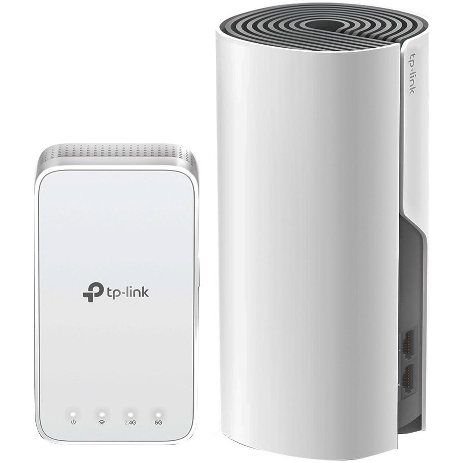 Fotografie Sistem Wi-Fi Mesh TP-Link Deco E3 (2-pack) AC1200 cu acoperire completa pentru casa
