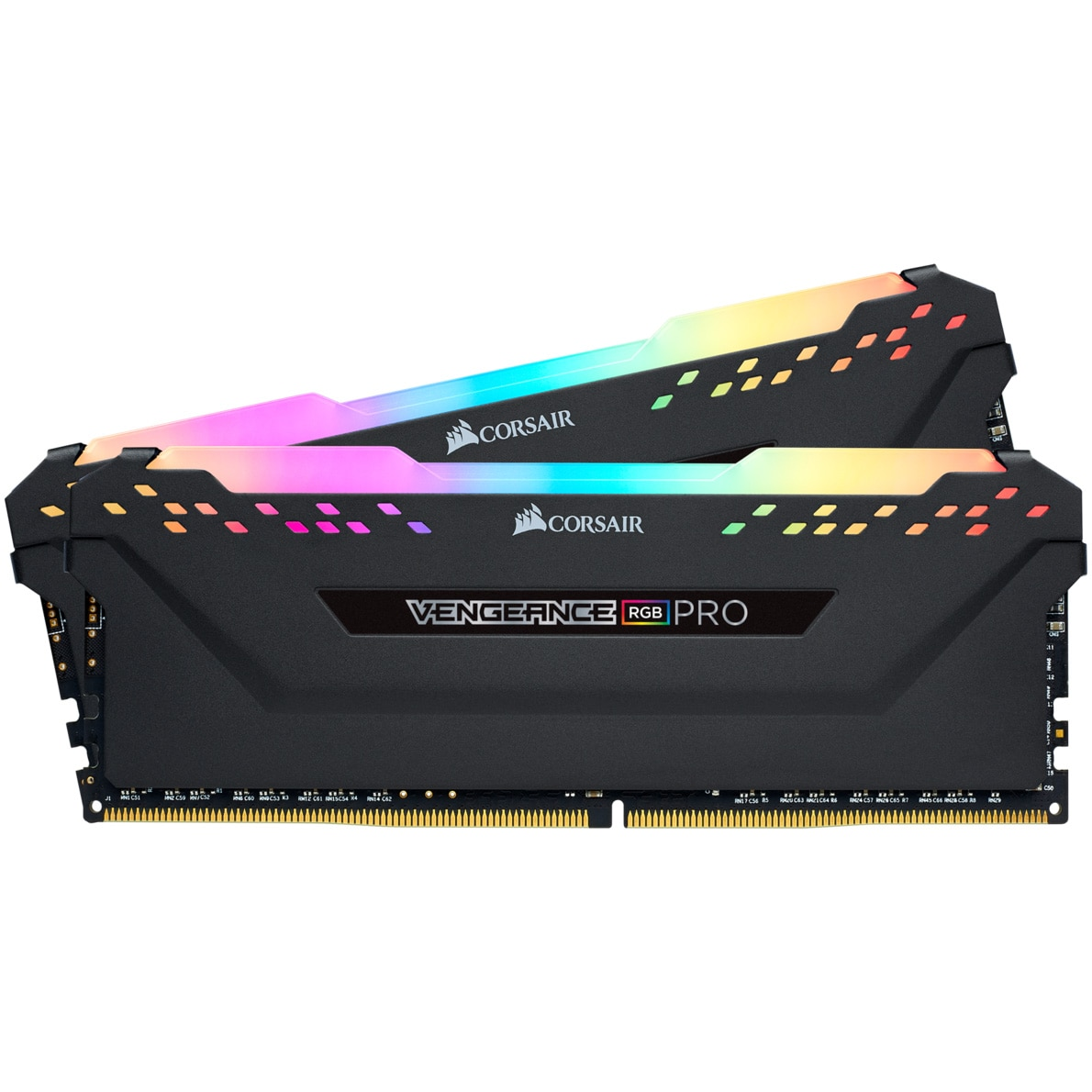 Fotografie Memorie Corsair Vengeance RGB PRO 16GB, DDR4, 3600MHz, CL18, Dual Channel Kit