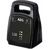 AEG LG8 Automatikus akkumulátor töltő ólom akkuhoz, 12V, 8A 10273