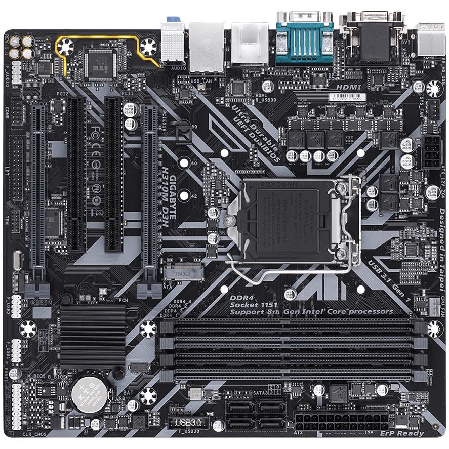 Fotografie Placa de baza Gigabyte H310M D3H, socket 1151