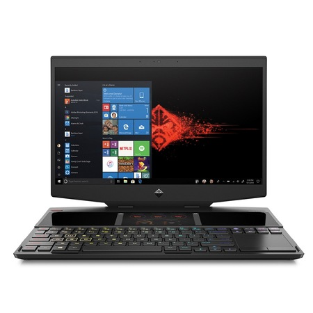 Лаптоп HP Omen X 15-dg0005nu Black, Core i9-9880H Octa(2.3Ghz, up to 4.8Ghz/16MB), 15.6