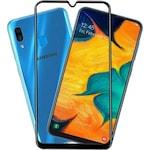 Стъклен Протектор No Brand, съвместим с Samsung A30, A30s, A50, 5D, Full Glue